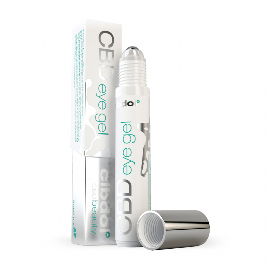 CBD-gel til øjenrulle