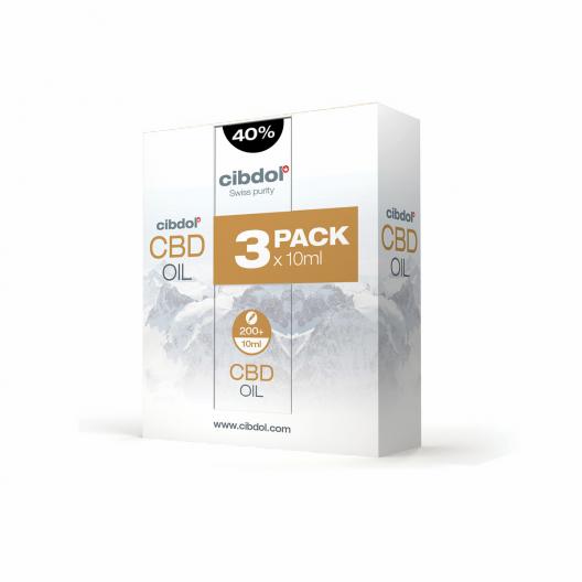 CBD-olie 40% multipakke