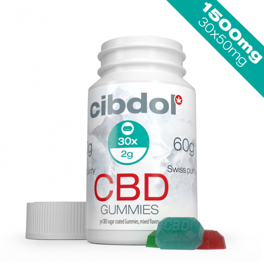 CBD-vingummi (1500 mg CBD)