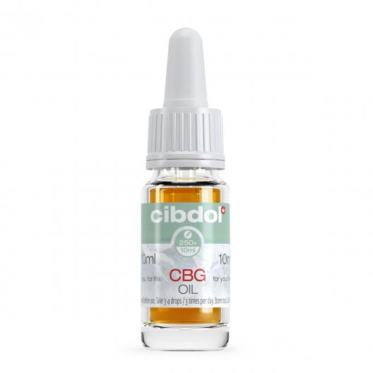 5% CBG & 2,5% CBD-olie